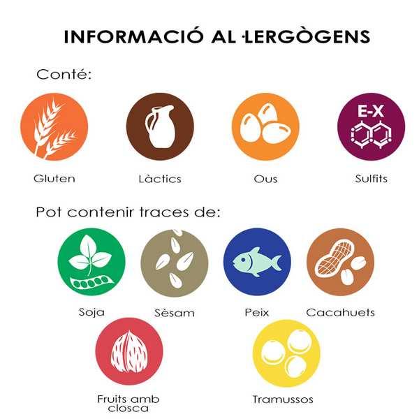 Mousse Fruites del Bosc Al·lergògens